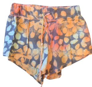 Blue Life Mini/Short Shorts orange