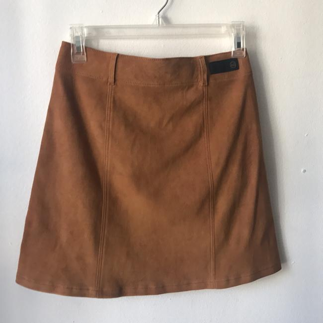 AG Adriano Goldschmied Mini Skirt camel Image 1