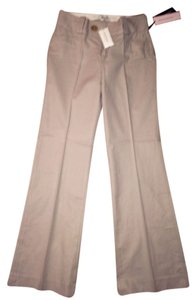 Banana Republic Trouser Pants Khaki Pinstripe