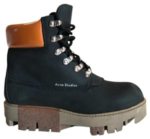 25e40d41adf Acne Studios Black Telde Hiking Boots/Booties Size US 6 Regular (M, B)