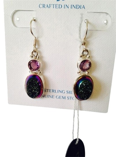 Preload https://img-static.tradesy.com/item/2153144/js-collections-bluegreenpurple-bluegreen-drusy-and-faceted-amethyst-0-1-540-540.jpg