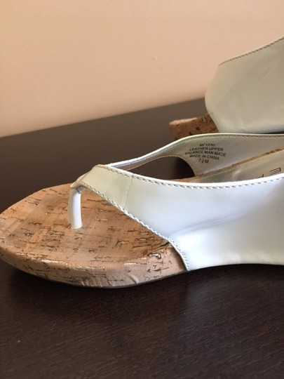 Marc Fisher White Wedges Image 2