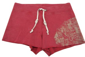 Ralph Lauren Awesome. Surf! Salted Red & Creme Shorts