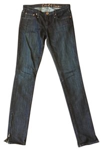 Chip and Pepper Denim Style Vintage Skinny Jeans-Dark Rinse