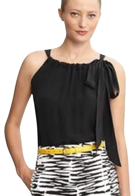 Preload https://img-static.tradesy.com/item/21532216/trina-turk-black-banana-republic-silk-bow-tie-night-out-top-size-petite-0-xxs-0-1-650-650.jpg