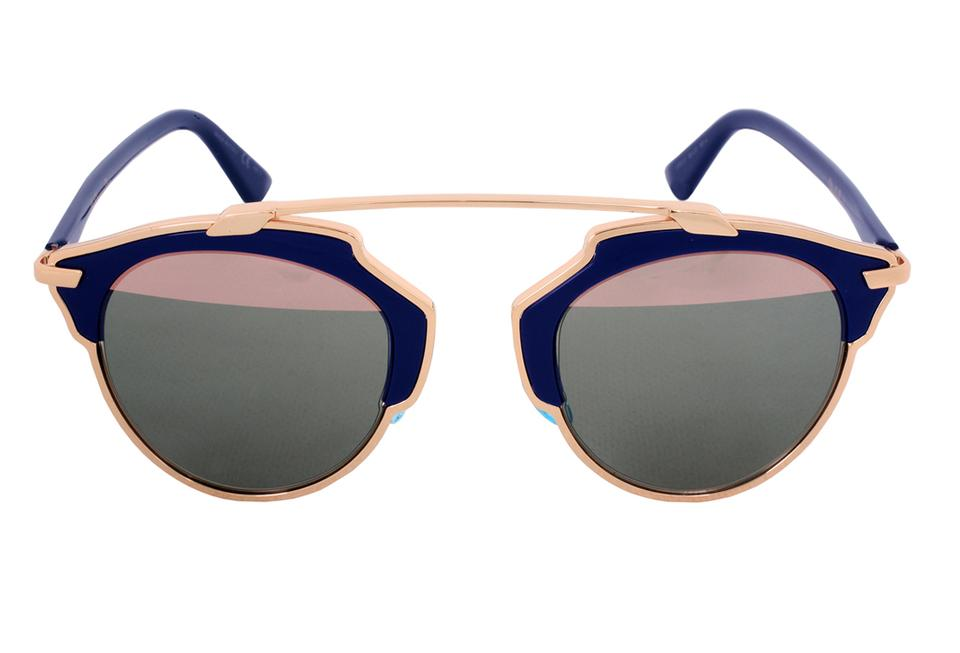 998f64d693ee Dior So Real 48mm Rose Gold   Navy Sunglasses Image 0 ...