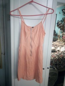 H&M short dress orange Rayon Spring Summer on Tradesy