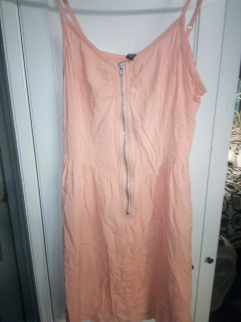 H&M short dress orange Rayon Spring Summer on Tradesy Image 1
