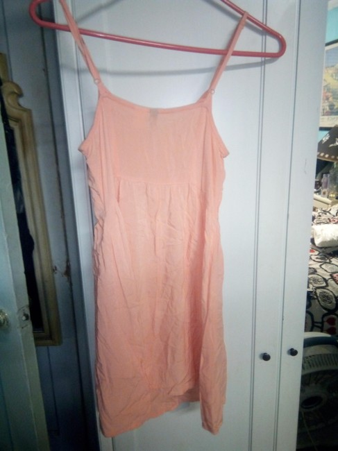 H&M short dress orange Rayon Spring Summer on Tradesy Image 3