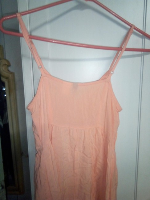 H&M short dress orange Rayon Spring Summer on Tradesy Image 4