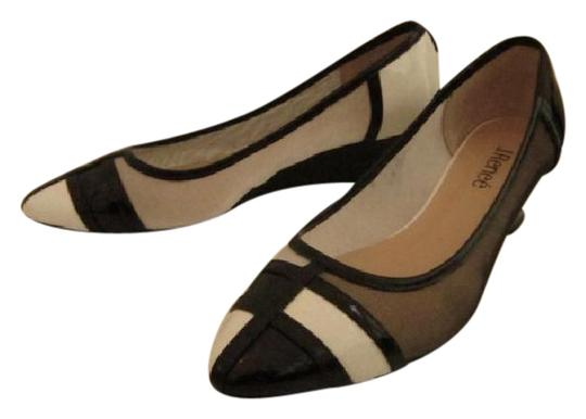 J. Renee Vegan Black and White Pumps Image 1
