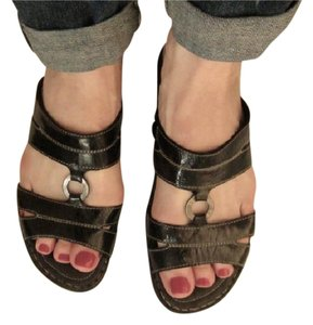 Josef Seibel Black Sandals