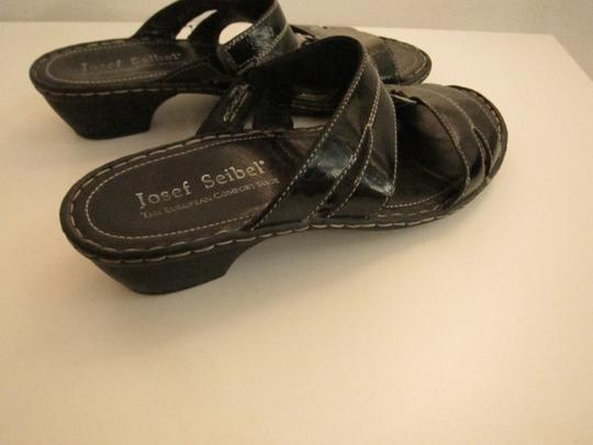 Josef Seibel Black Sandals Image 5