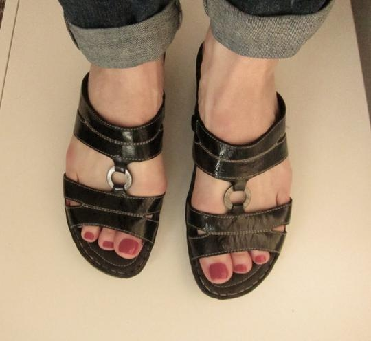 Josef Seibel Black Sandals Image 7