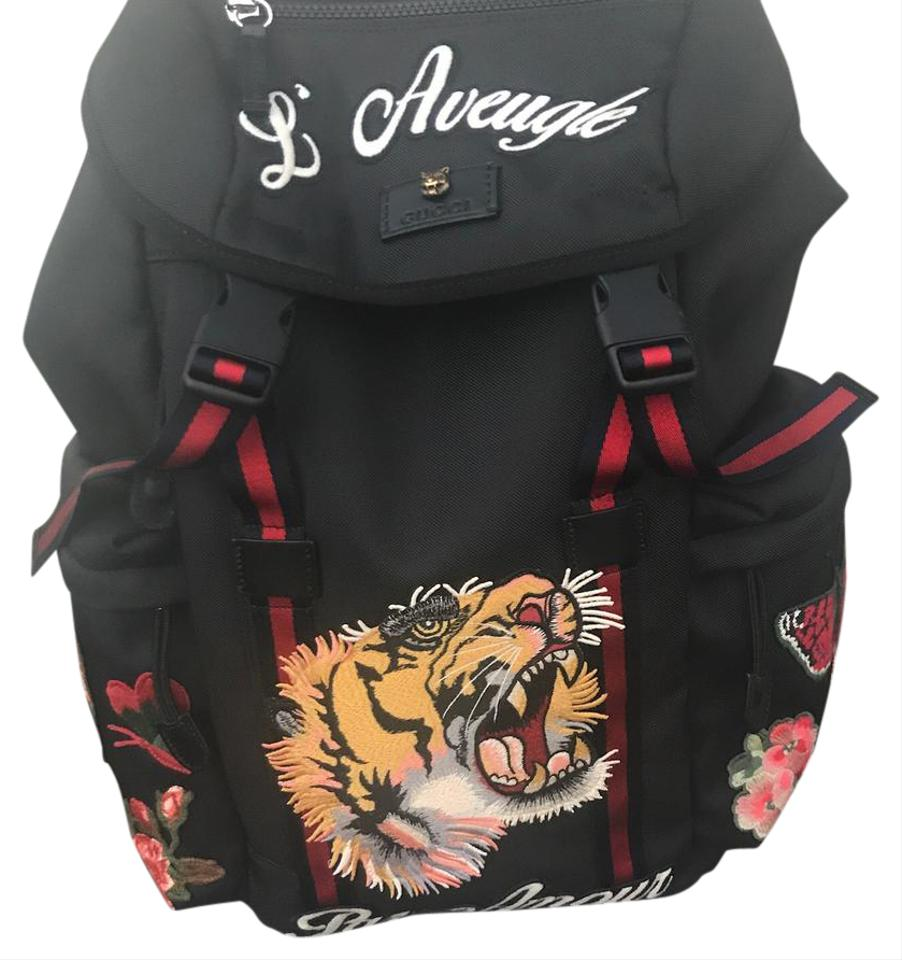 0577097c232 Gucci Techpack with embroidery Backpack Image 0 ...