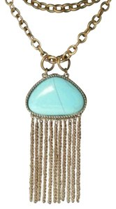 Queen Esther Etc Turquoise Length Adjustable Necklace