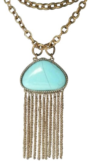 Preload https://img-static.tradesy.com/item/21532828/bronze-turquoise-length-adjustable-necklace-0-1-540-540.jpg