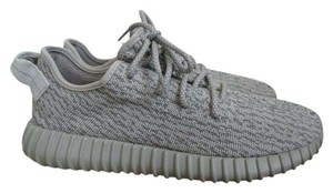 adidas X Yeezy Boost Sneakers Lace Up Gray Athletic
