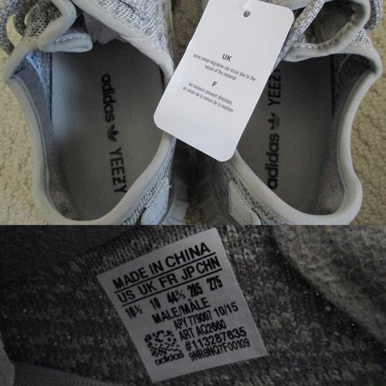 adidas X Yeezy Boost Sneakers Lace Up Gray Athletic Image 1