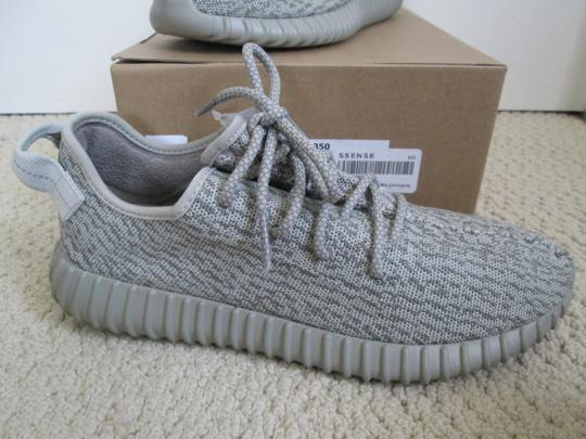 adidas X Yeezy Boost Sneakers Lace Up Gray Athletic Image 11