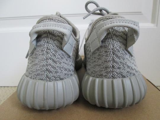 adidas X Yeezy Boost Sneakers Lace Up Gray Athletic Image 3