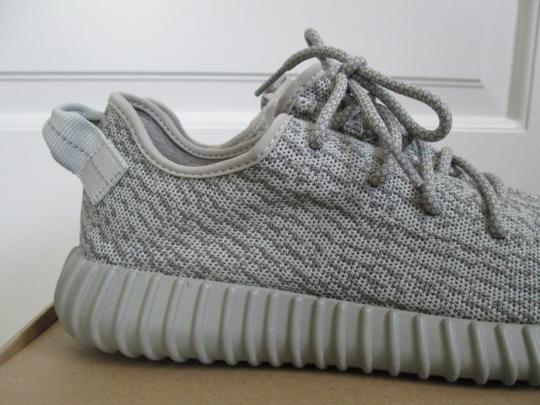 adidas X Yeezy Boost Sneakers Lace Up Gray Athletic Image 7