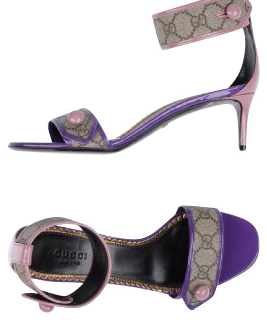 Item - Brown Purple Pink New Sandals Size US 5 Regular (M, B)