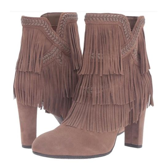 Sam Edelman Taupe Boots Image 0