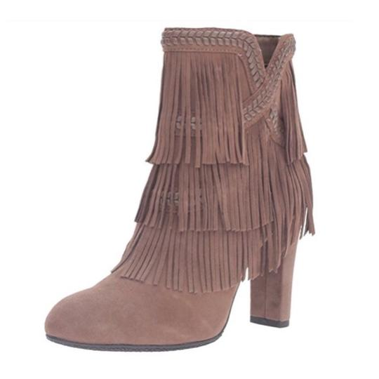 Sam Edelman Taupe Boots Image 1