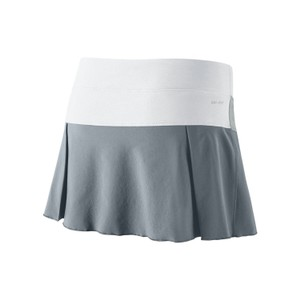 Nike Nike Women's Victory Court Tennis Skirt, Dove Grey/White, M