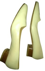 Ralph Lauren Cream Pumps