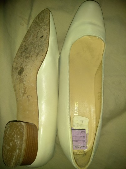 Ralph Lauren Cream Pumps Image 1