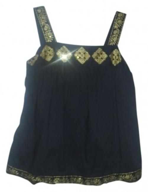 Preload https://img-static.tradesy.com/item/21534/michael-michael-kors-black-embroidered-with-sequins-tank-topcami-size-8-m-0-0-650-650.jpg