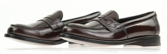 Prada Loafers Moccasin Brown Flats Image 3
