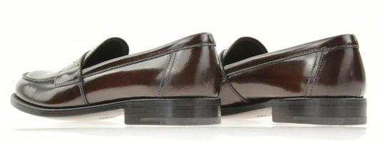 Prada Loafers Moccasin Brown Flats Image 8