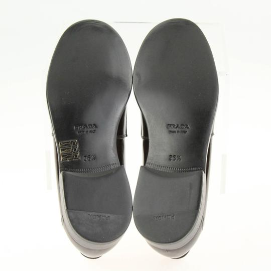 Prada Loafers Moccasin Brown Flats Image 9