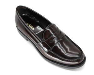 Prada Loafers Moccasin Brown Flats