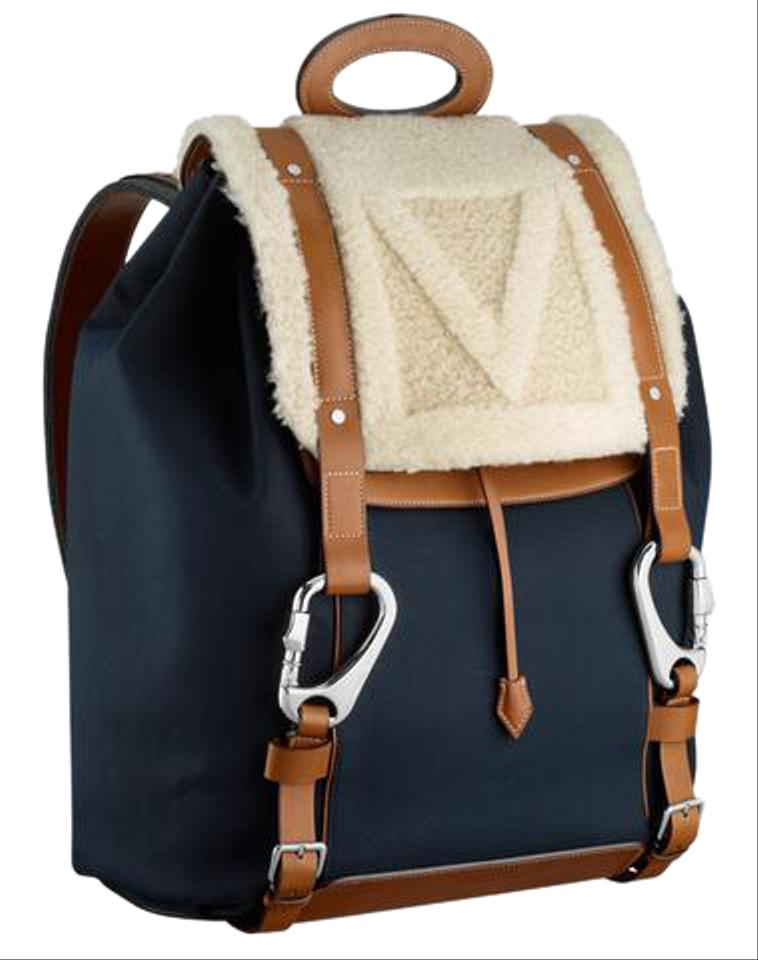 4570be611de1 Louis Vuitton Limited Edition Fall Winter13 Shearling Rucksack ...