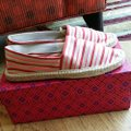 Tory Burch Red pink Flats Image 1