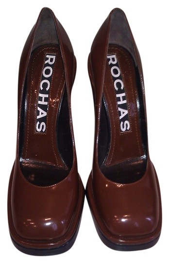 Preload https://img-static.tradesy.com/item/2153452/rochas-brown-new-leather-pumps-size-us-10-0-0-540-540.jpg