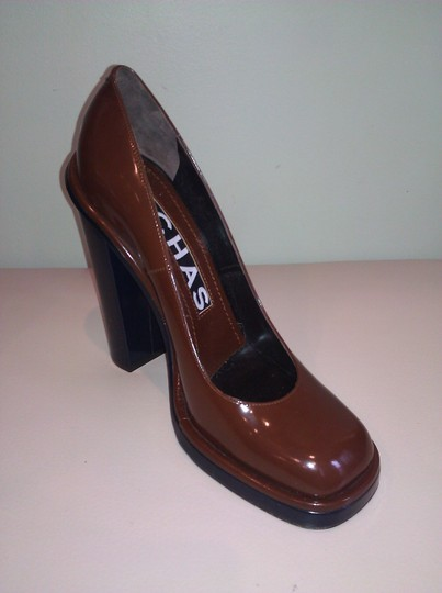 Rochas Brown Pumps Image 2
