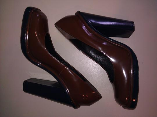 Rochas Brown Pumps Image 4