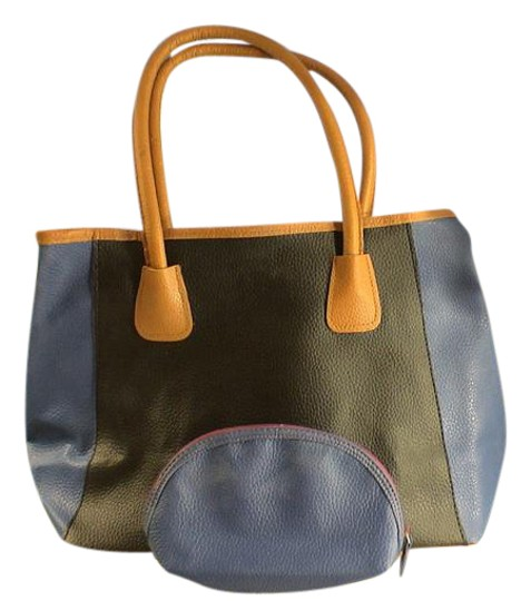 Preload https://img-static.tradesy.com/item/21534807/neiman-marcus-open-with-matching-cosmetic-makeup-multi-colored-embossed-leather-look-tote-0-1-540-540.jpg