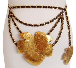 CHANEL CHANEL FIG LEAF BELT / NECKLACE