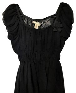Studio M Silk Top Black