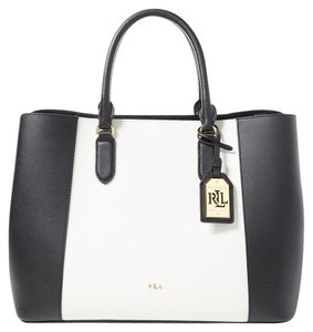 Ralph Lauren Tote in Black & White
