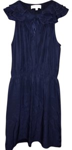 Amanda Uprichard Silk Summer Occasion Ruffle Dress