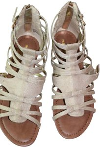 Madden Girl Gold/Cream Sandals