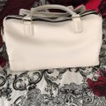 Betsey Johnson Satchel in black and white Image 3