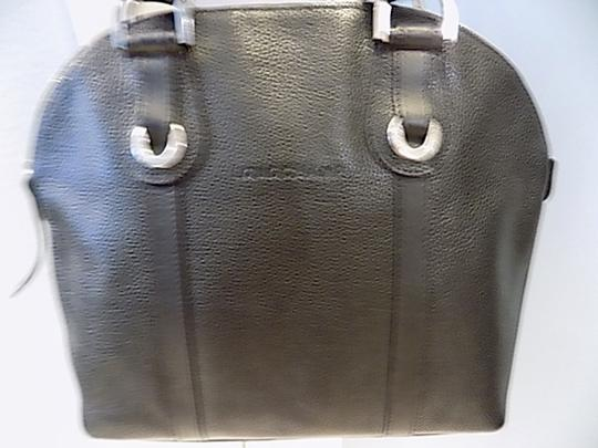 Longchamp Leather Satchel in black Image 2